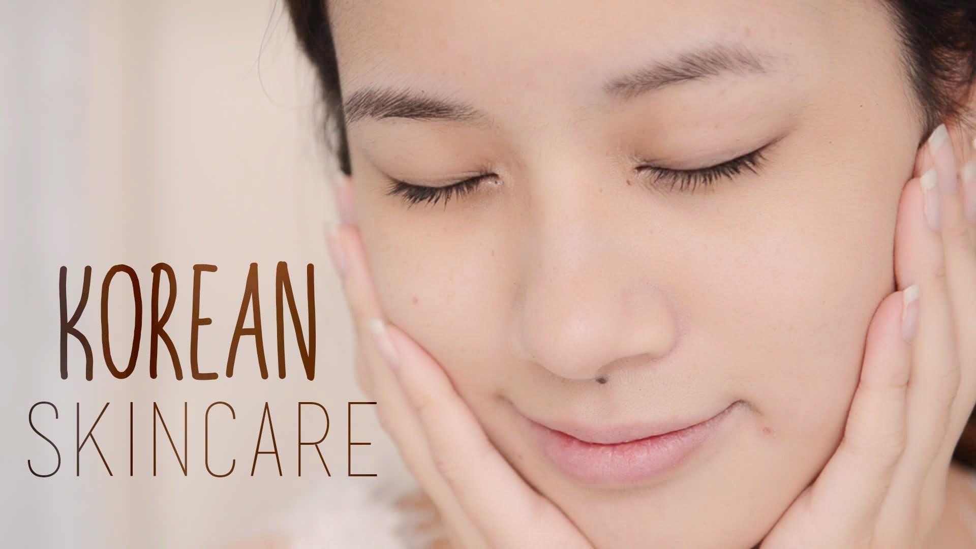 Korean Skincare Routine - YouTube