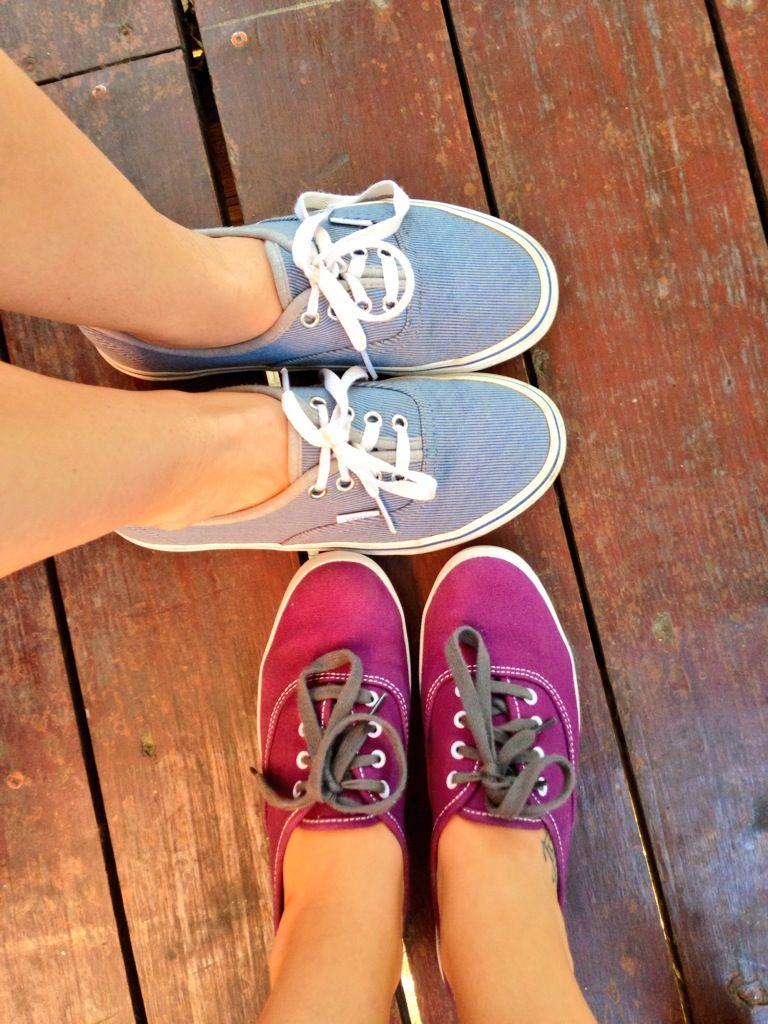 Sister summer tennie-shoes #keds  #vans