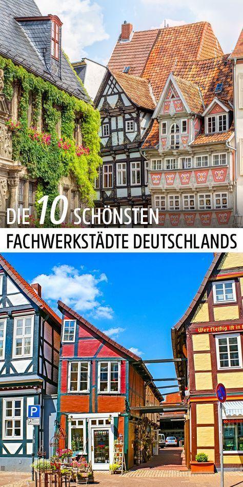 die sch nsten fachwerkst dte deutschlands mittelalter wundersch n und deutschland. Black Bedroom Furniture Sets. Home Design Ideas