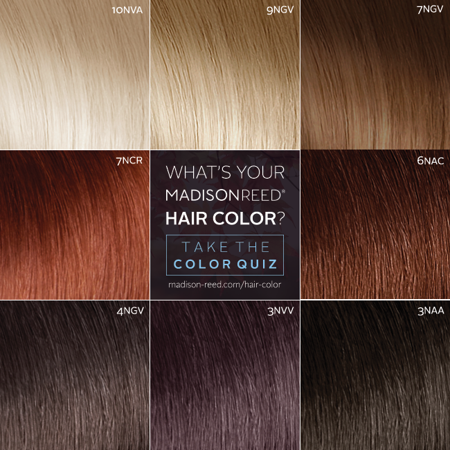 What S Your Best Haircolor Shade Take The Madisonreed Color Quiz And Find Your Perfect Shade Wedding Hair Beauty Hair Quiz Hair Color