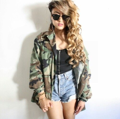 Everyone needs a camo jacket of some sort in there wardrobe