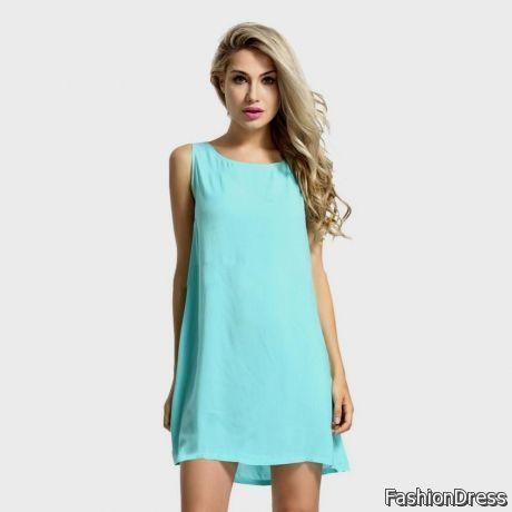 light teal casual dress 2017-2018 » DreamyDress