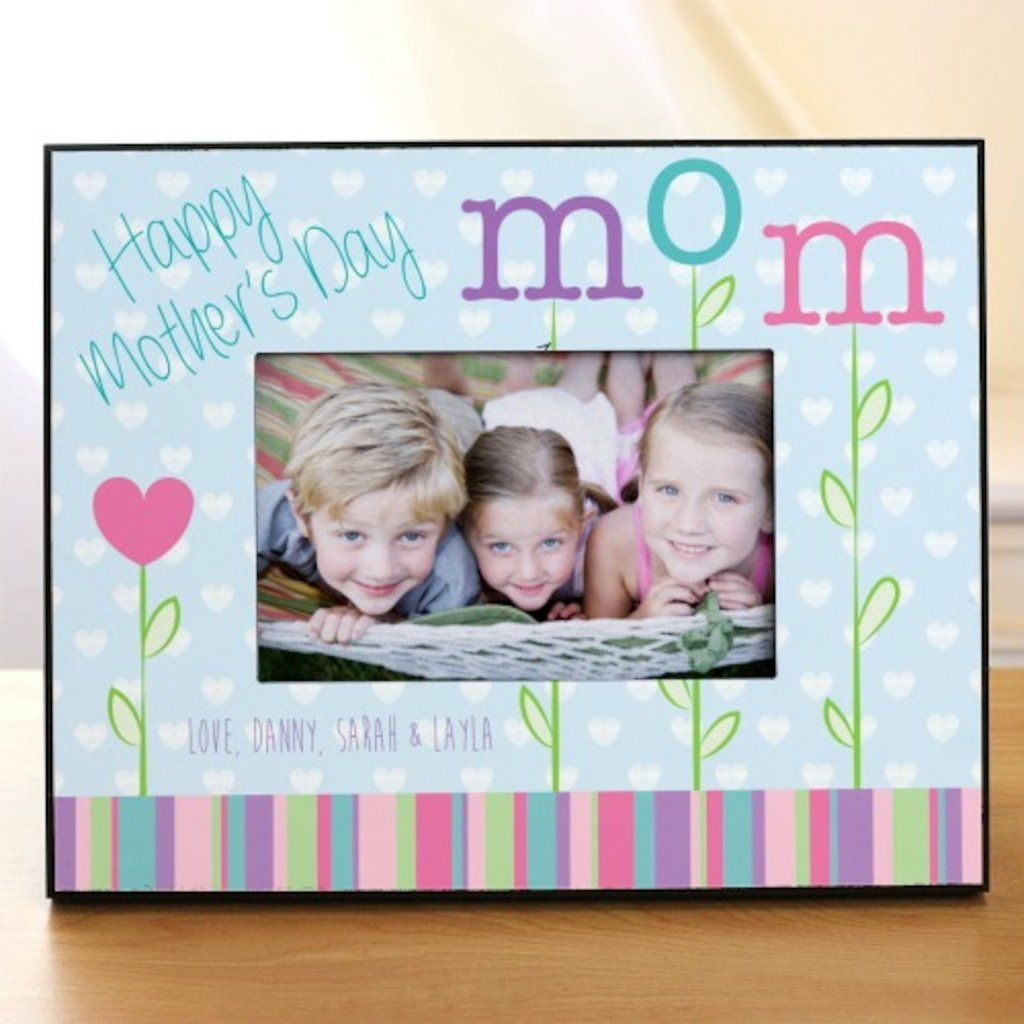 personalized happy mothers day printed frame - Mom Picture Frames