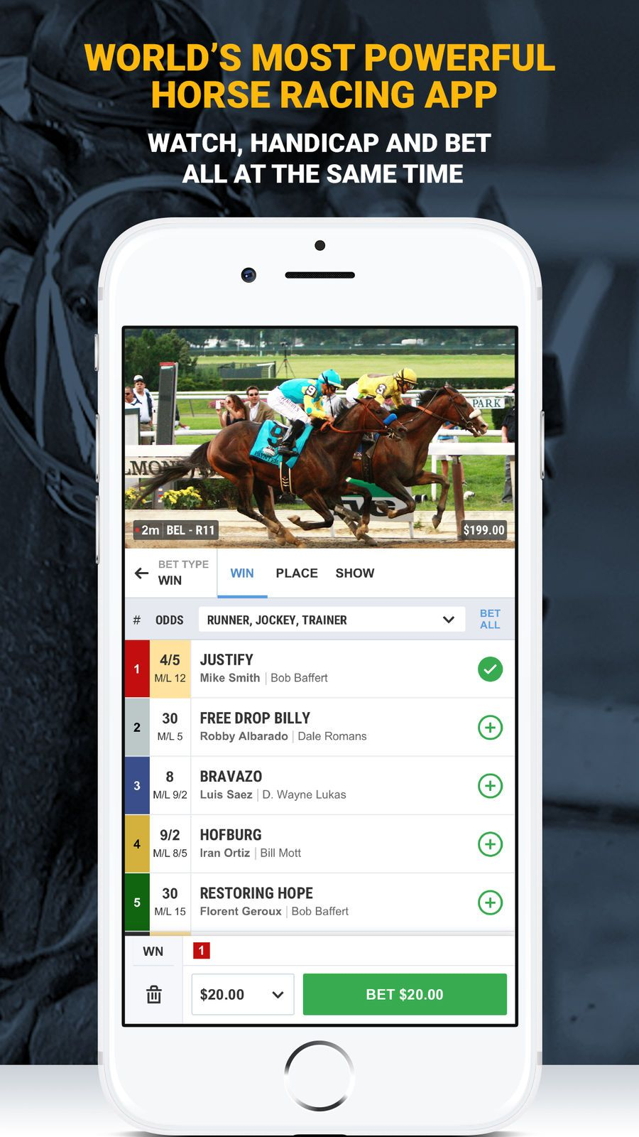 TVG Horse Racing Betting App GamesSportsappsios