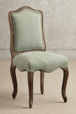 Very nice, simple side chair. South Shore Decorating Blog: 30 Favorite New Kitchens