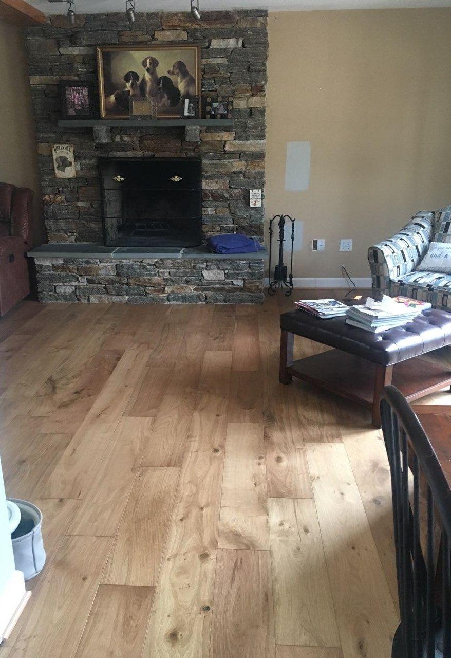 Room Scene Featuring Clarksburg Engineered European Oak