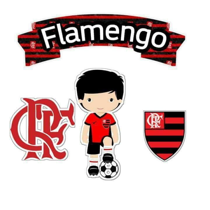 Flamengo Plaquinhas Para Festas Cake Toppers Scrapbook E Cake