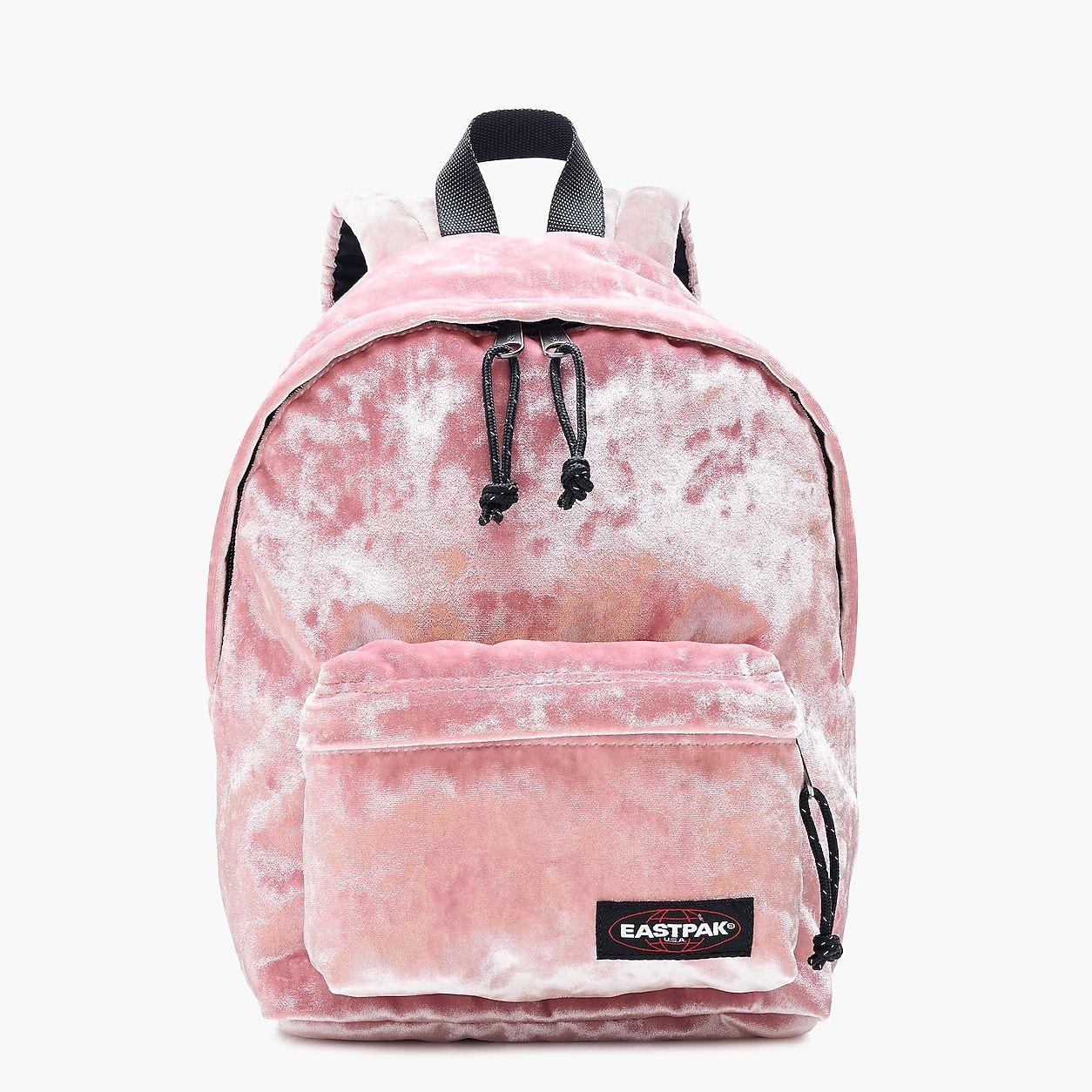Eastpak For Orbit Backpack In Pink Velvet | Sac, Sac a dos
