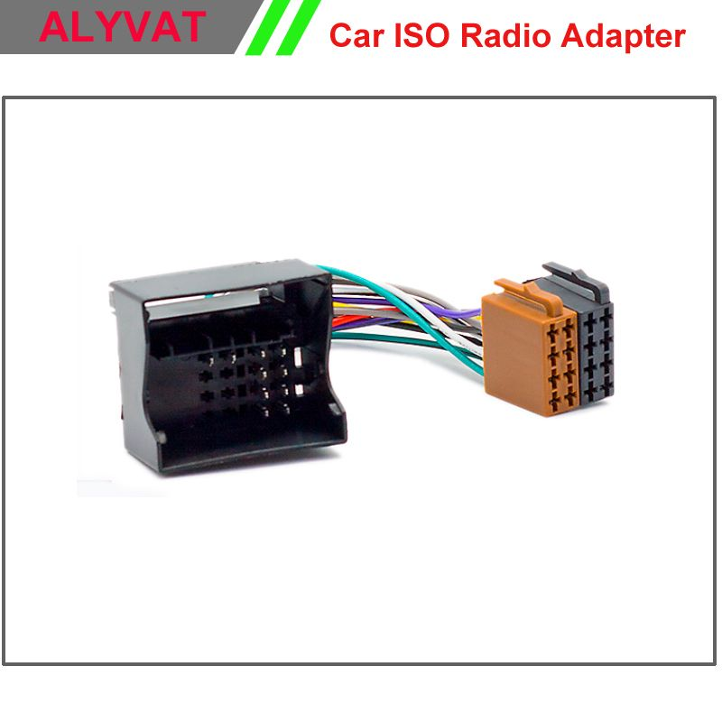 car iso radio adapter for citroen c2 c3 c4 c5 peugeot all models auto  stereo wiring harness connector lead loom power cable plug