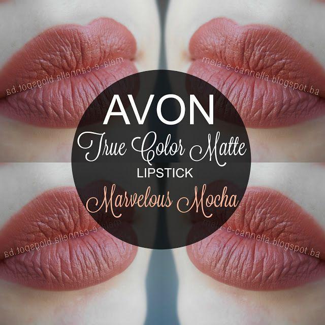 Mela E Cannella Avon True Color Matte Lipstick Marvelous Mocha
