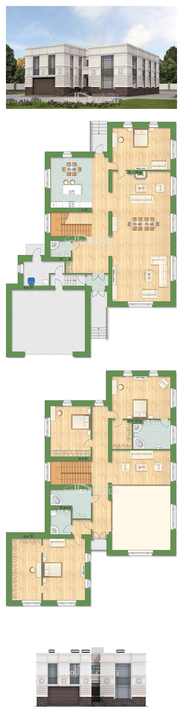 400 005 house expert h user grundrisse pinterest grundrisse h uschen. Black Bedroom Furniture Sets. Home Design Ideas