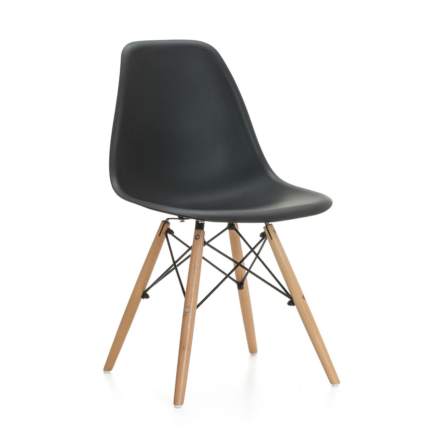 Chaise Wooden Polypropylene Inspiration Dsw De Charles Ray