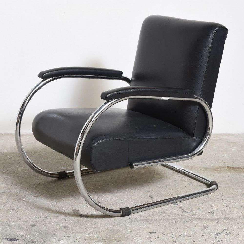 Bauhaus Lounge Chair by Unknown Designer for Tubax