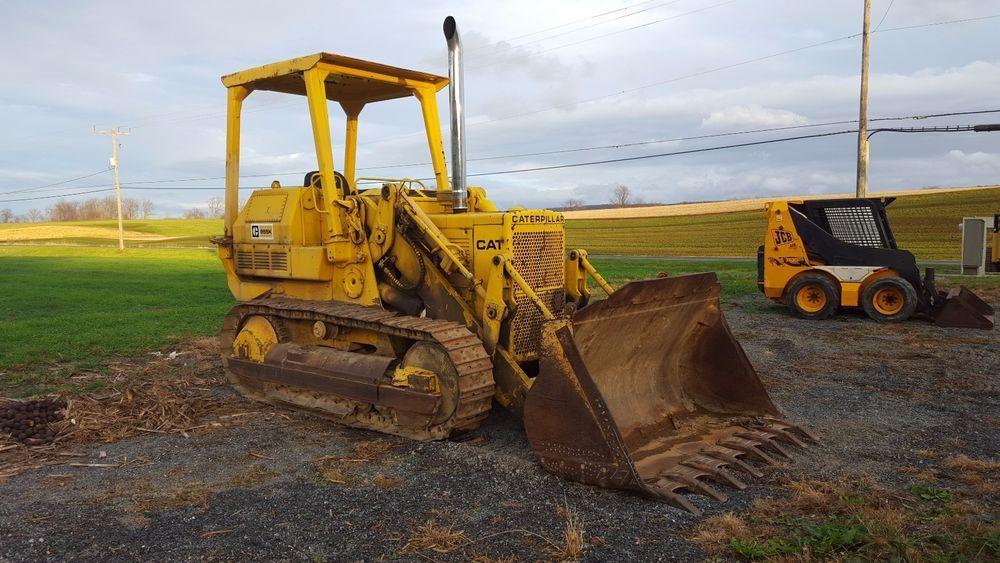 1971 Cat Caterpillar 955K 85J Crawler Track Loader Diesel