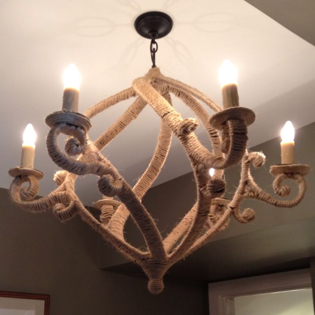 Very Manly Nautical Themed Light Fixture In The Boy S Room Asoshowhouse