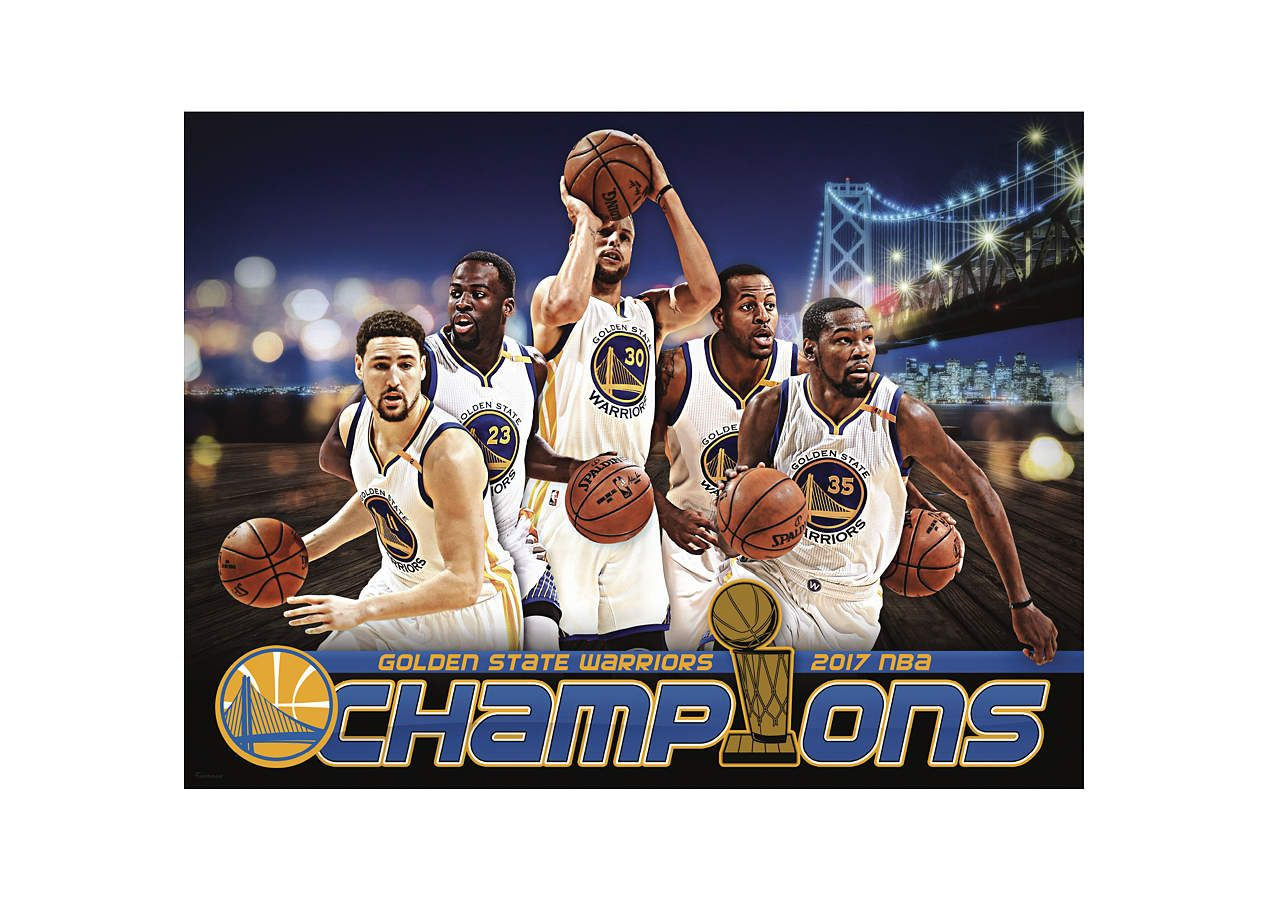 Golden state warriors 2017 champions montage fathead wall mural golden state warriors 2017 champions montage fathead wall mural amipublicfo Image collections