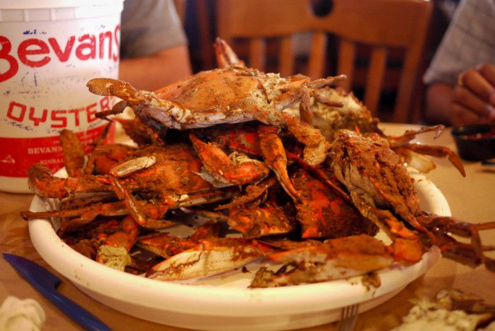 Maryland Blue Crabs - Here in Maryland we love our crabs. Anything and everything that can be stuffed with crab, we try it. We may be a little obsessed, but that's okay. Our Bay provides us with this Chesapeake treasure and we will never take it for granted. Here are 15 blue crab dishes to try in Maryland. That's right – a crabby bucket list!