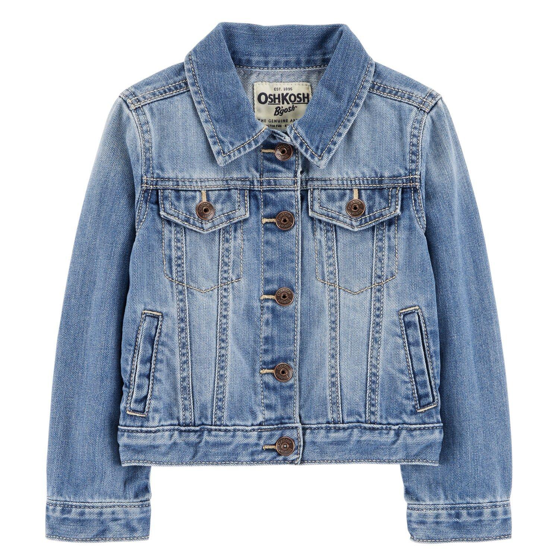 Toddler Girl Oshkosh B Gosh Classic Denim Jean Jacket Girls Denim Jacket Classic Denim Jacket Denim Jacket [ 1500 x 1500 Pixel ]