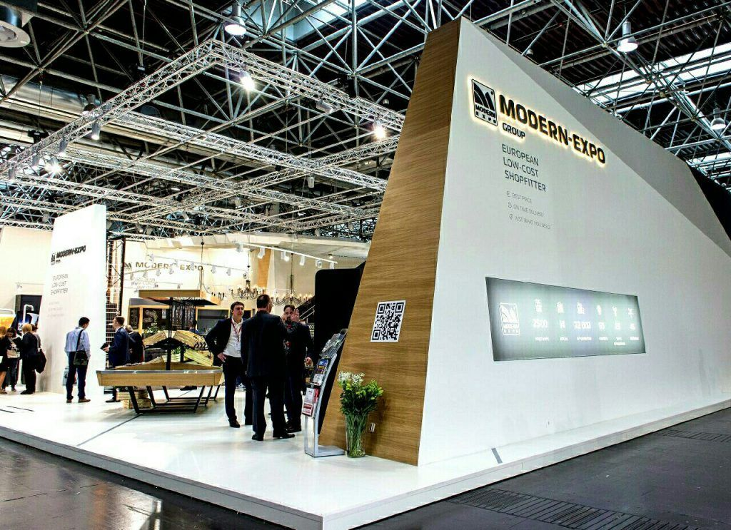 Modern Exhibition Stand Job : Modern expo booth at euroshop design ideas