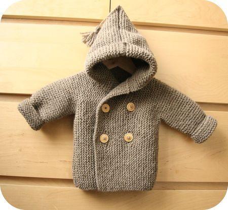 tuto tricot paletot bebe