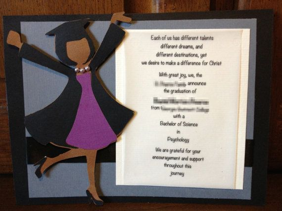 graduate invites surprising homemade graduation invitations which