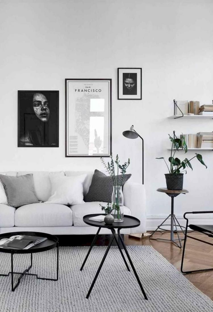 Comfy Minimalist Apartment Interior Design