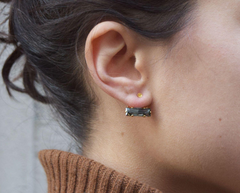 Chloé Under Lobe Earrings