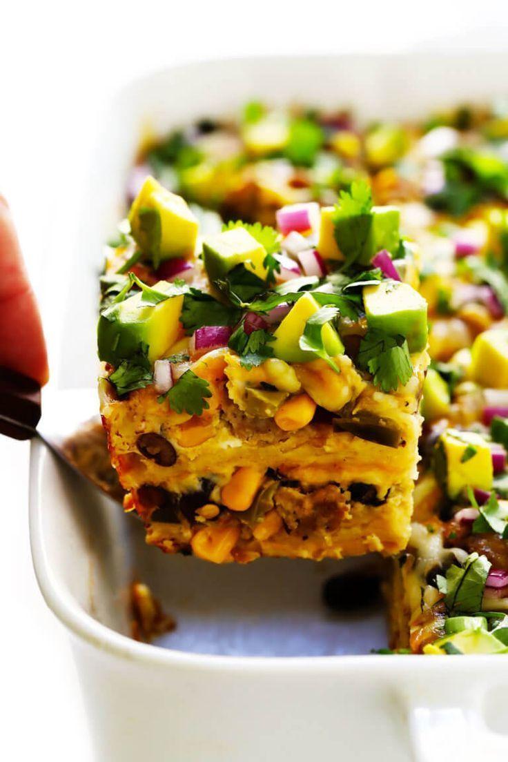 Amazing Mexican Breakfast Casserole  Food