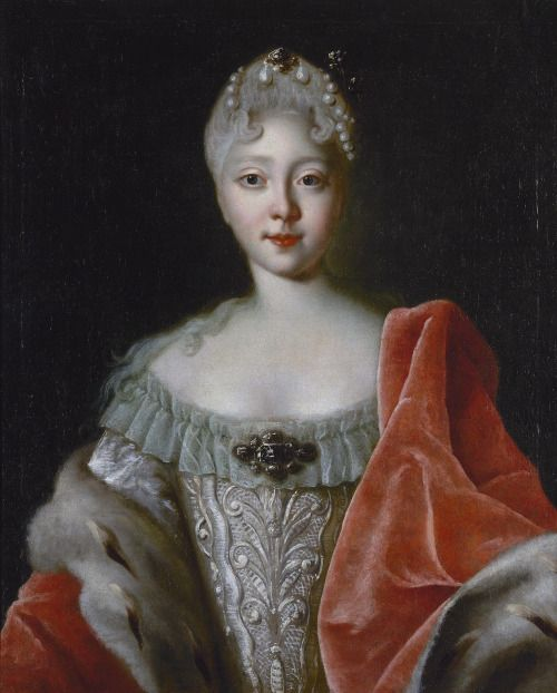 History Of Fashion In Art Photo Portrait Catherine The Great Russia