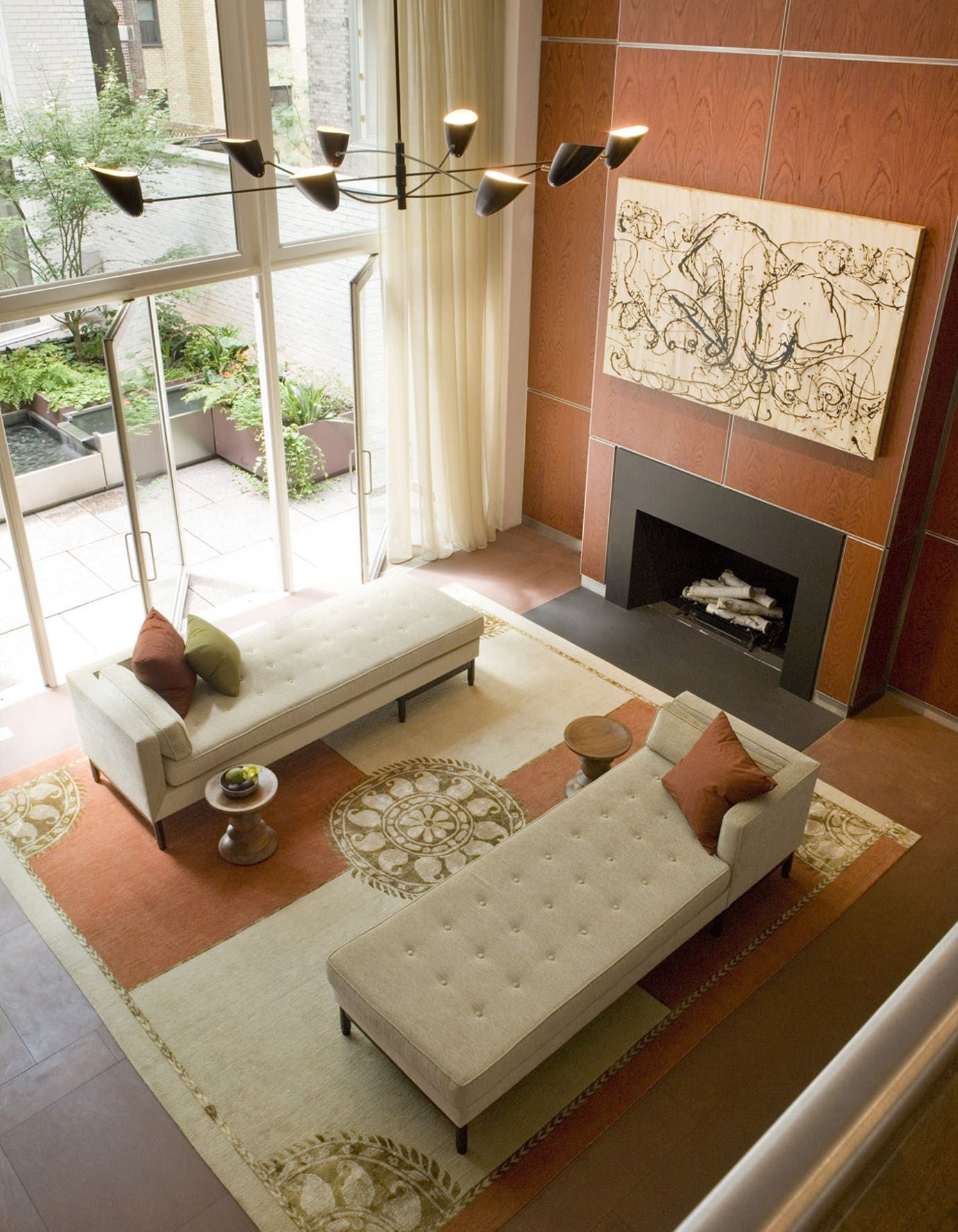 Townhouse Living Room Design: Modern Townhouse By Lichten Craig