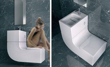 super bathroom space saver toilet u0026 basin combo modern