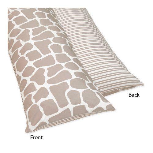 Found It At Wayfair Giraffe Body Pillowcase Body Pillow Covers Body Pillow Jojo Designs