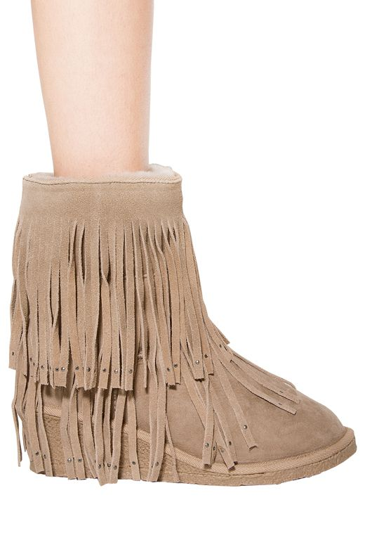 e5d494c62a6 Fernila Boot in Grey Beige | My Style | Boots, Fashion boots, Fashion