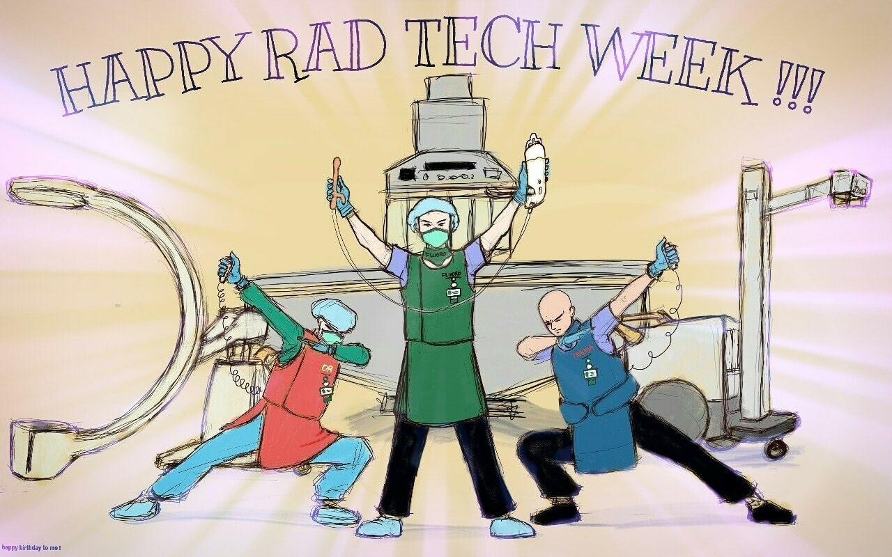 Happy Rad Tech week Rad tech week, Rad tech, Xray tech