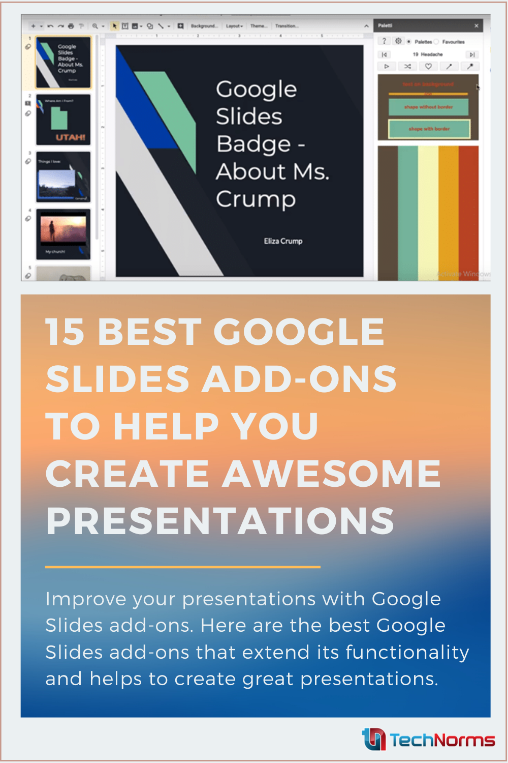 15 Best Google Slides Add Ons To Help You Create Awesome Presentations Google Slides Presentation Ads
