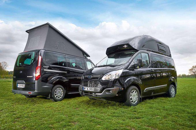 Wohnmobile Reisemobile Stellplatze Tests Und Ratgeber Ford Nugget Aufstelldach Und Ford