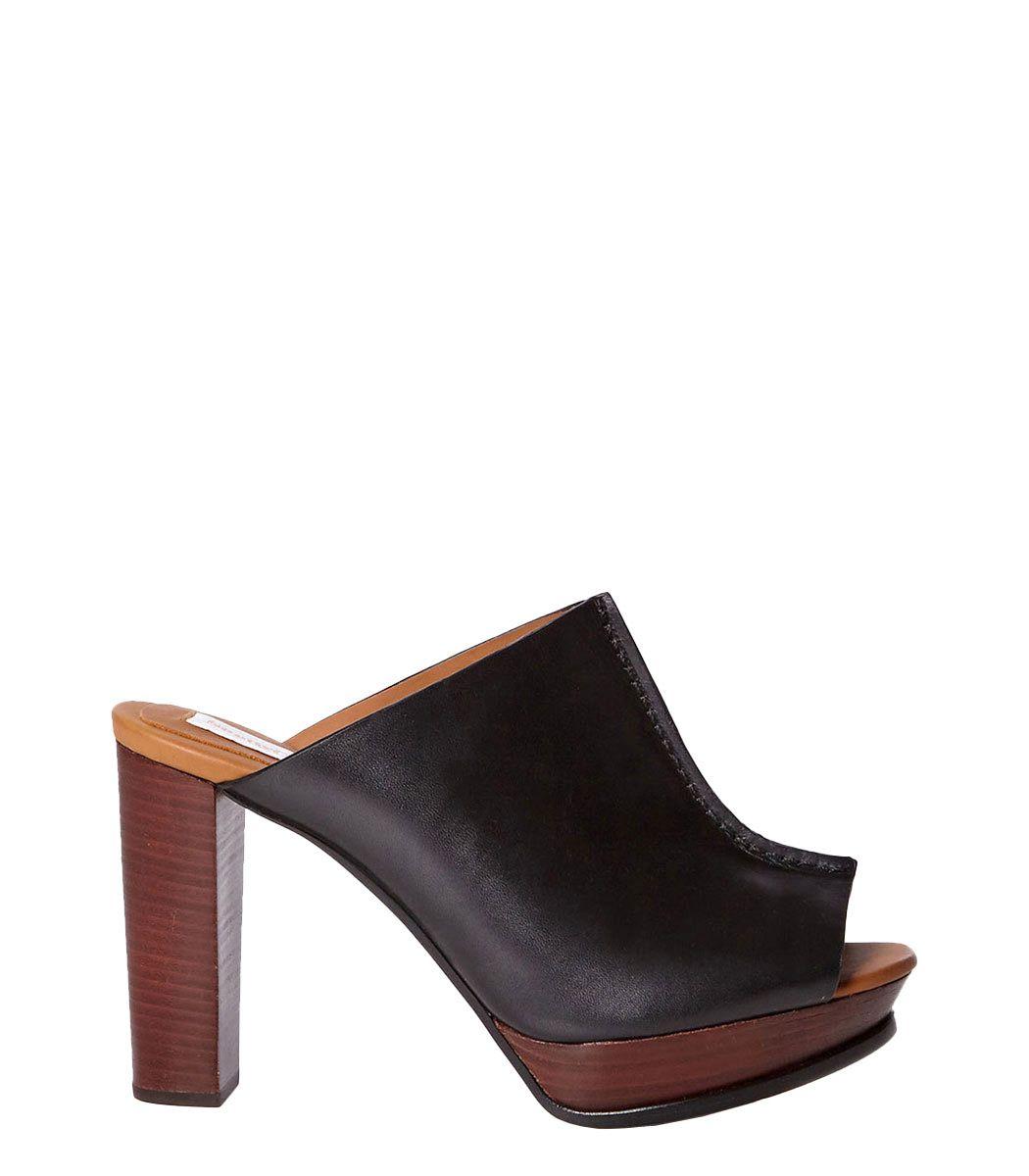 See by Chloe Black 'Alex' Leather Mule