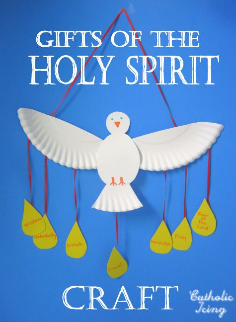 Make a paper plate dove as a Holy Spirit craft. Easy and cheap! For Pentecost Baptism Confirmation or anytime! pentecost-and-holy-spirit  sc 1 st  Pinterest & Pentecost: Make a paper plate dove as a Holy Spirit craft. Easy and ...