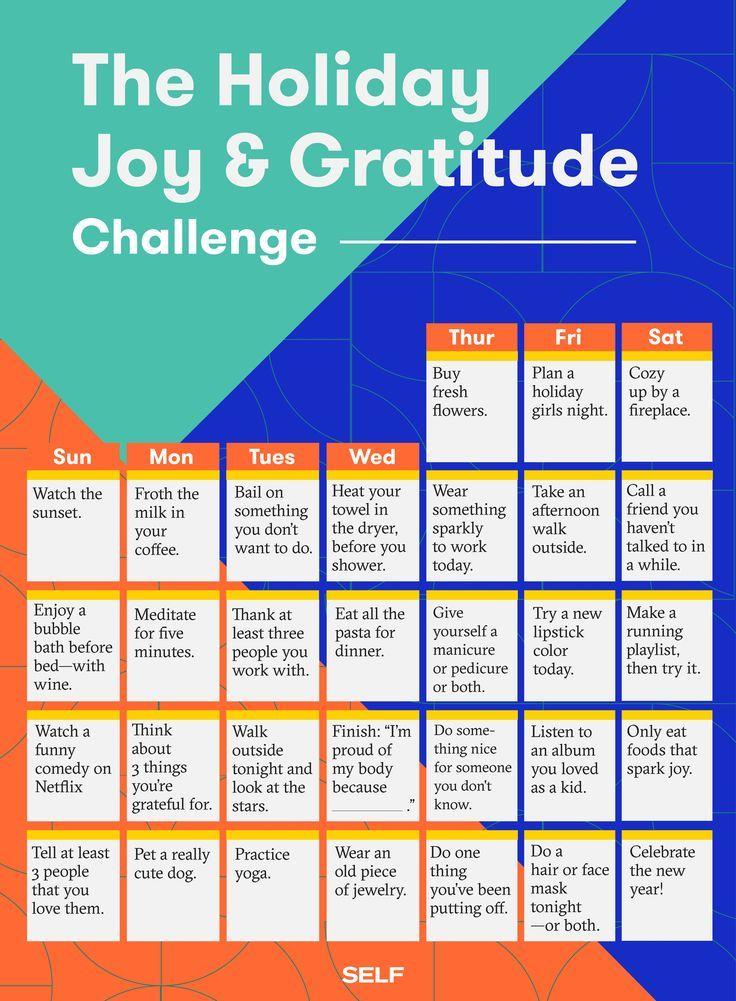 The Holiday Joy & Gratitude Challenge Gratitude