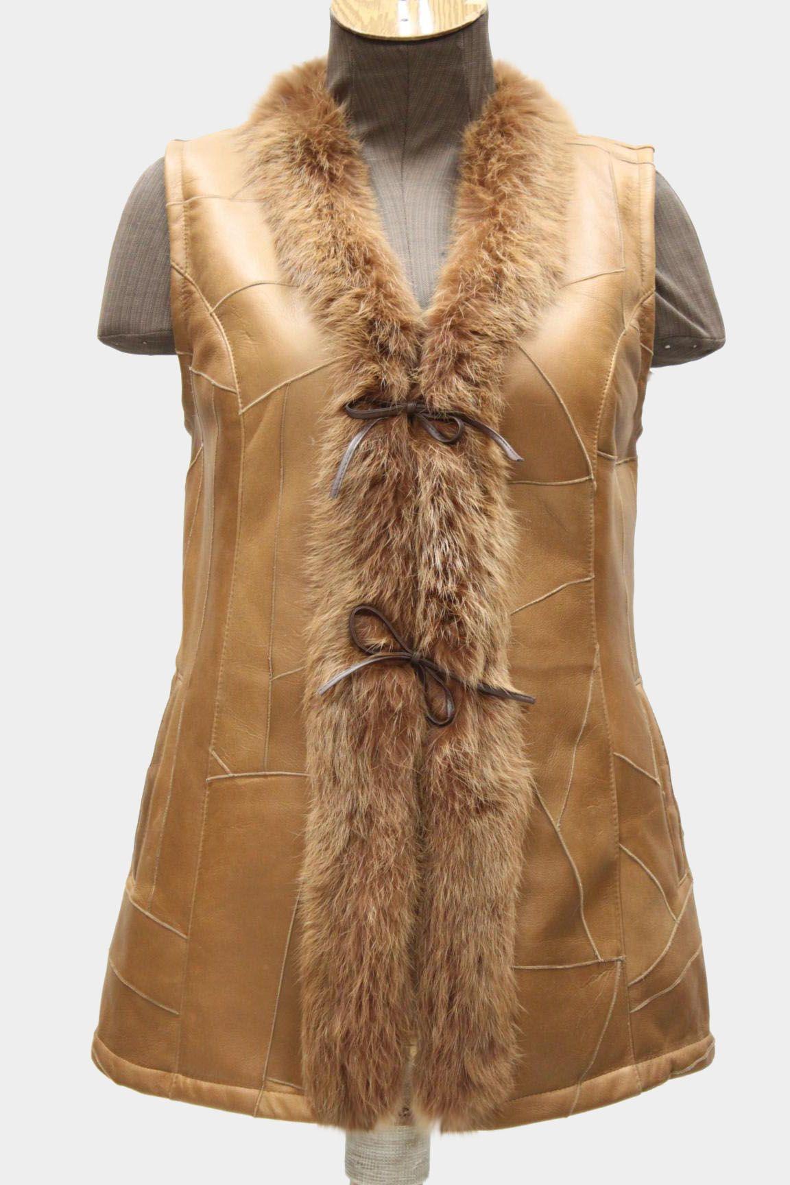 Kozuch Naturalny Kamizelka Damska 42 Jorfa 81 7013913394 Oficjalne Archiwum Allegro Fashion Coat Fur Coat