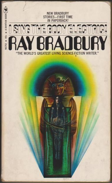 Image result for ray bradbury book covers i sing""