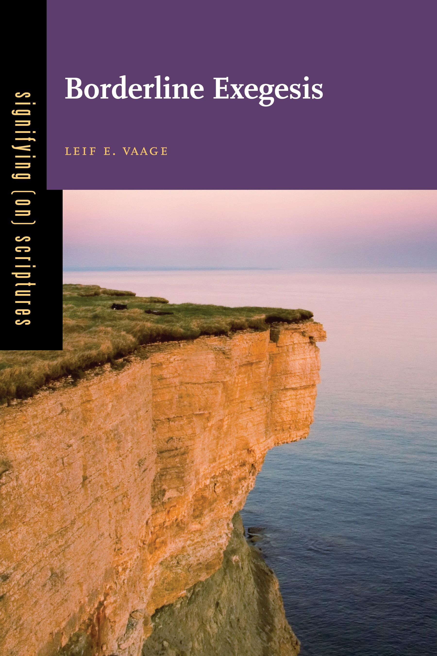 BORDERLINE EXEGESIS by Leif E. Vaage: http://www.psupress.org/books/titles/978-0-271-06287-7.html **New in Paperback**