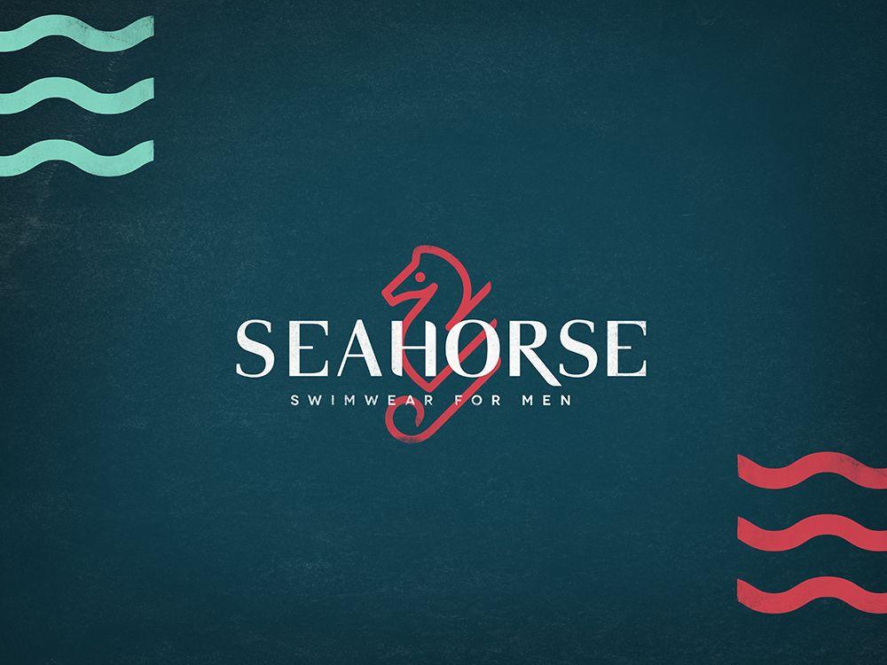 Seahorse Astronauta Branding Identity Graphicdesign Logo