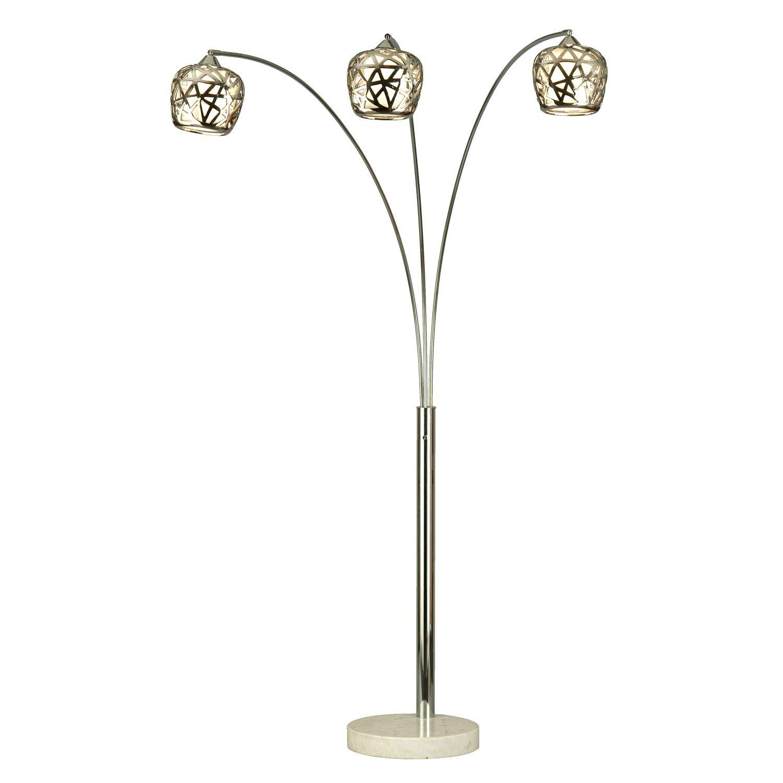 Three Light Arc Lamp Arc Floor Lamps Floor Lamp Modern Lighting Store