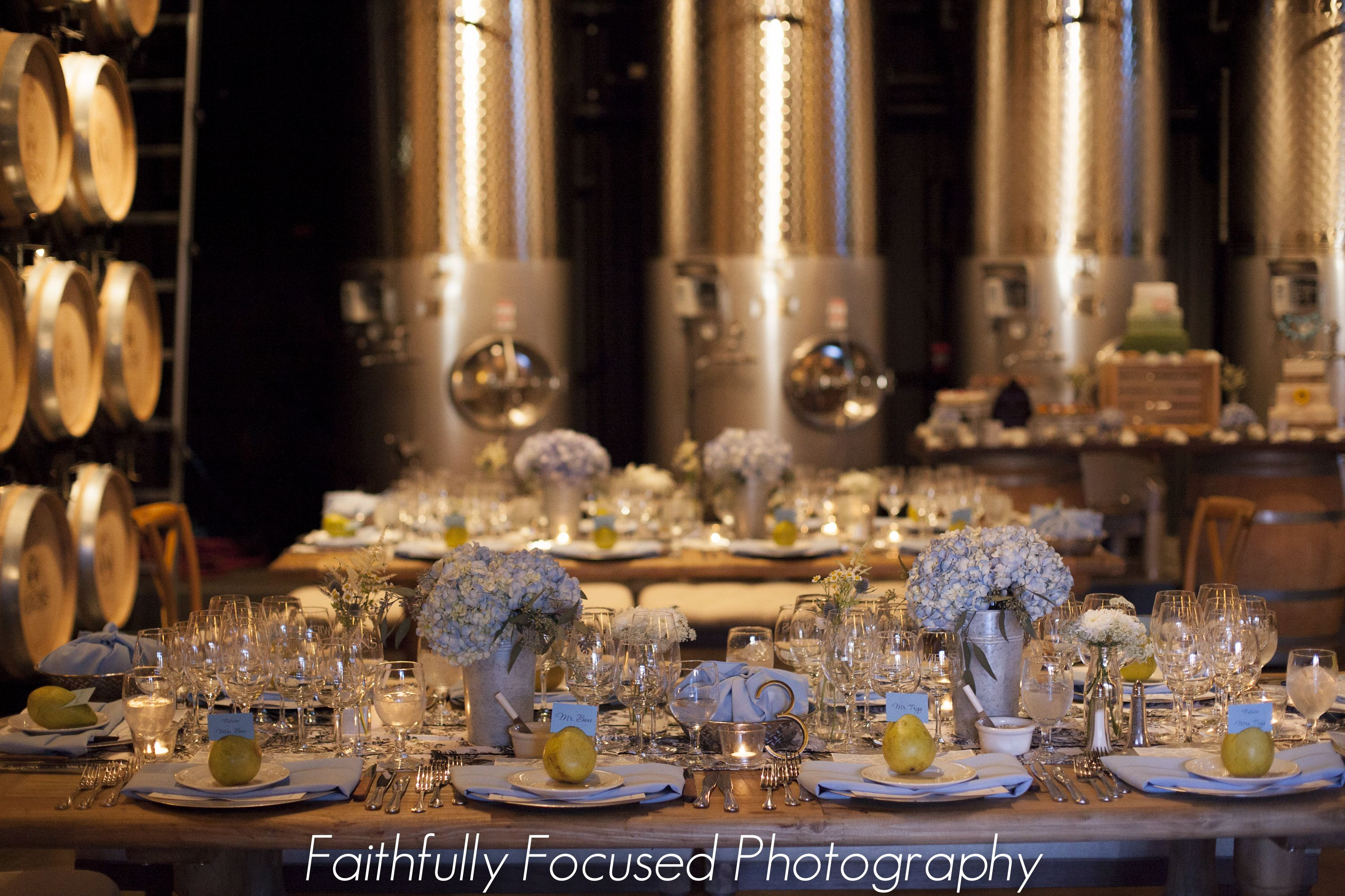 Romantic French Country Reception   http://www.wienscellars.com/temecula-wedding/