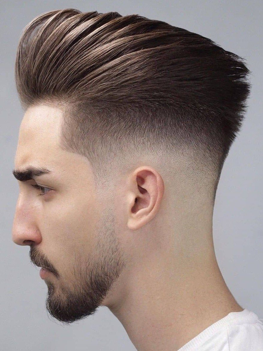 14 Back Fade Hairstyle Smart Charming Look Mens Hairstyles Fade Gents Hair Style Men Haircut Styles