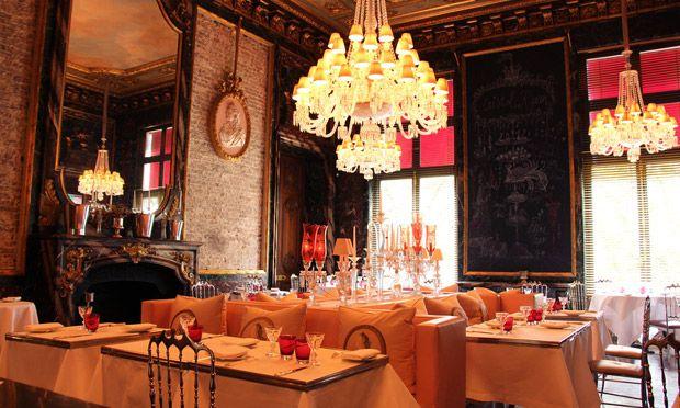 The Cristal Room Baccarat Paris Franca Restaurant Ceiling Lights Paris