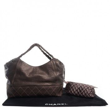 1181fba58f6dfc Chanel (new) Calfskin Baby Coco Cabas Bronze Metallic Bronze Tote Bag. Get  one of the hottest styles of the season! The Chanel (new) Calfskin Baby  Coco ...