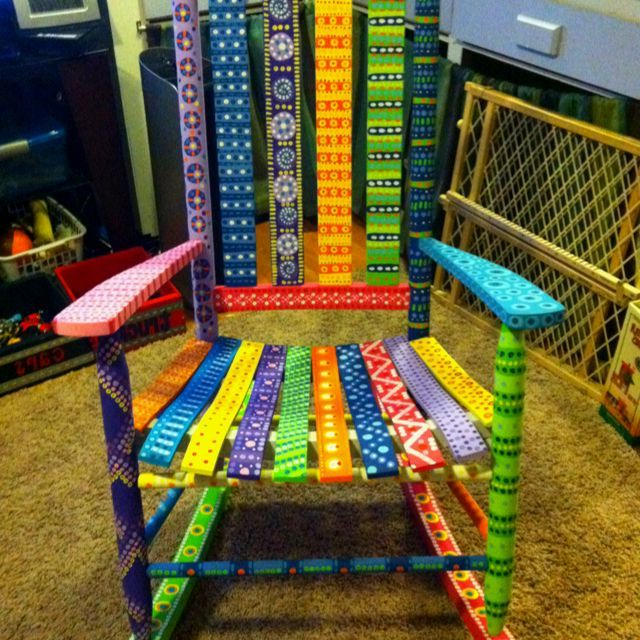 Funky Hand Painted Furniture Hand Painted Furniture Whimsical Furniture Pinterest Paint