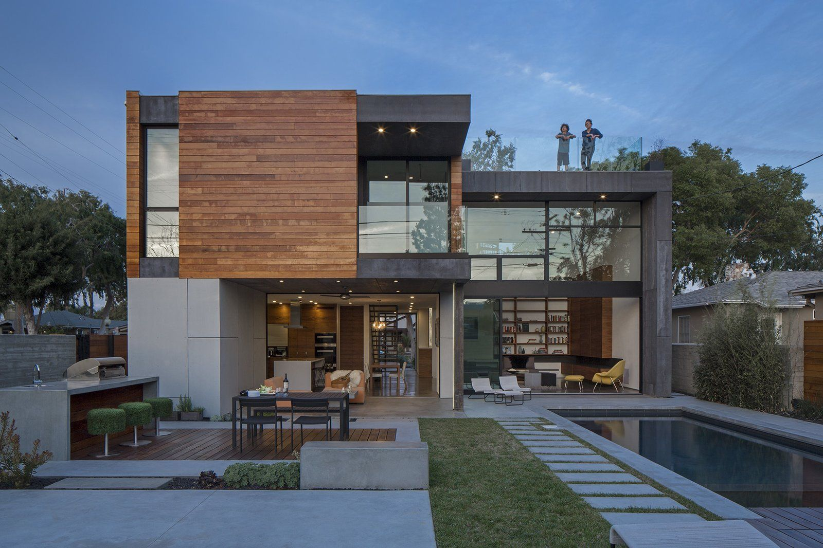 Walnut House Modern Home in Culver City